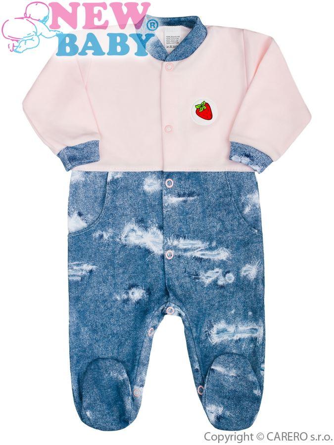 ac28786eb Dojčenský overal New Baby Light Jeansbaby ružový 62 (3-6m). Domov ·  Dojčenské oblečenie · Overaly · Dojčenské bavlnené overaly ...