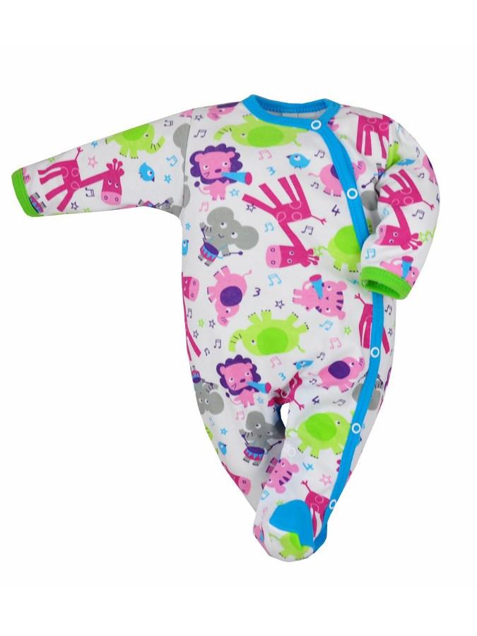 22337736d Dojčenský overal Bobas Fashion Zoo tyrkysový 80 (9-12m). Domov · Dojčenské  oblečenie · Overaly · Dojčenské bavlnené overaly ...