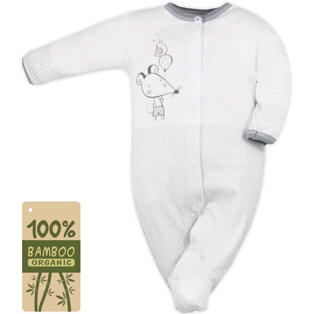 fb2592af1 Dojčenský overal Koala Mouse and Snail biely 62 (3-6m). Domov · Dojčenské  oblečenie · Overaly · Dojčenské bavlnené overaly ...