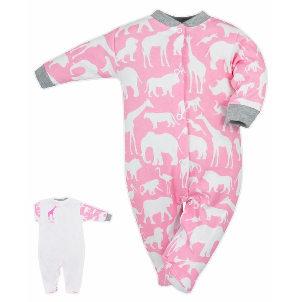 ddf55a4d2 Dojčenský overal Bobas Fashion Africa ružový 74 (6-9m). Domov · Dojčenské  oblečenie · Overaly · Dojčenské bavlnené overaly ...