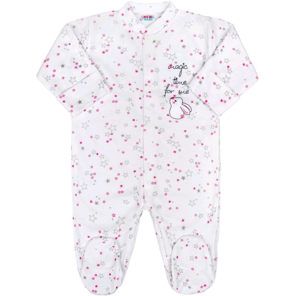 394ee5ba1 Dojčenský overal New Baby Magic Star ružový 68 (4-6m). Domov · Dojčenské  oblečenie · Overaly · Dojčenské bavlnené overaly ...