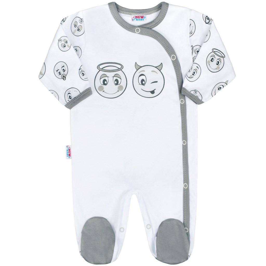 c8788d321 Dojčenský bavlnený overal New Baby Emotions 56 (0-3m) – Pidi Mini ...