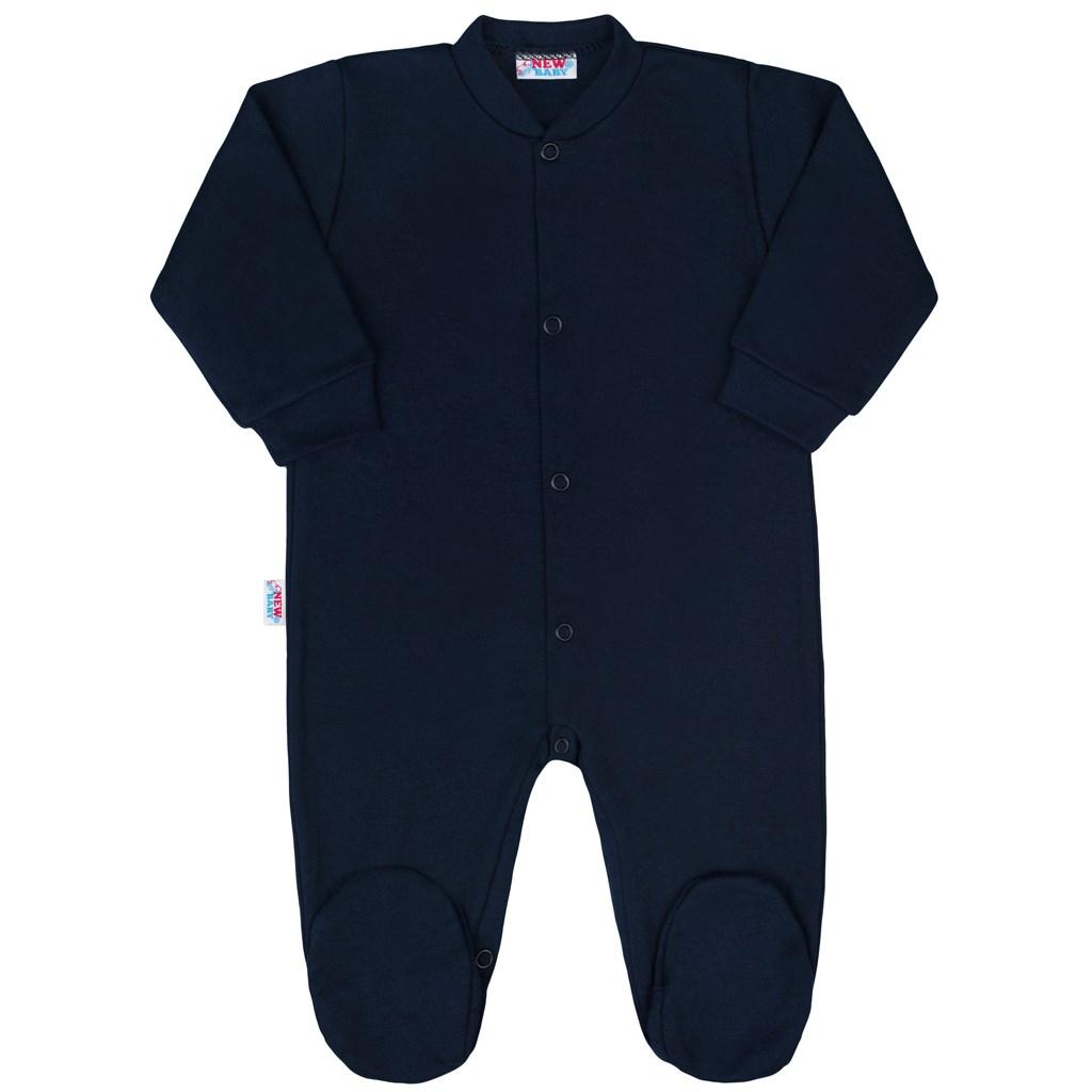 43a45e208 Dojčenský overal New Baby Classic II tmavo modrý 50. Domov · Dojčenské  oblečenie · Overaly · Dojčenské bavlnené overaly ...