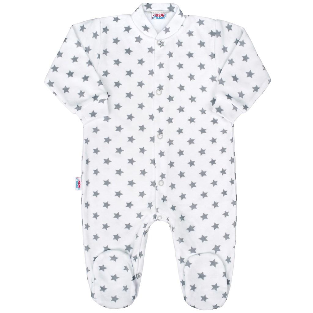 437e02d2f Dojčenský overal New Baby Classic II sivý s hviezdičkami 50. Home ·  Dojčenské oblečenie · Overaly · Dojčenské bavlnené overaly ...