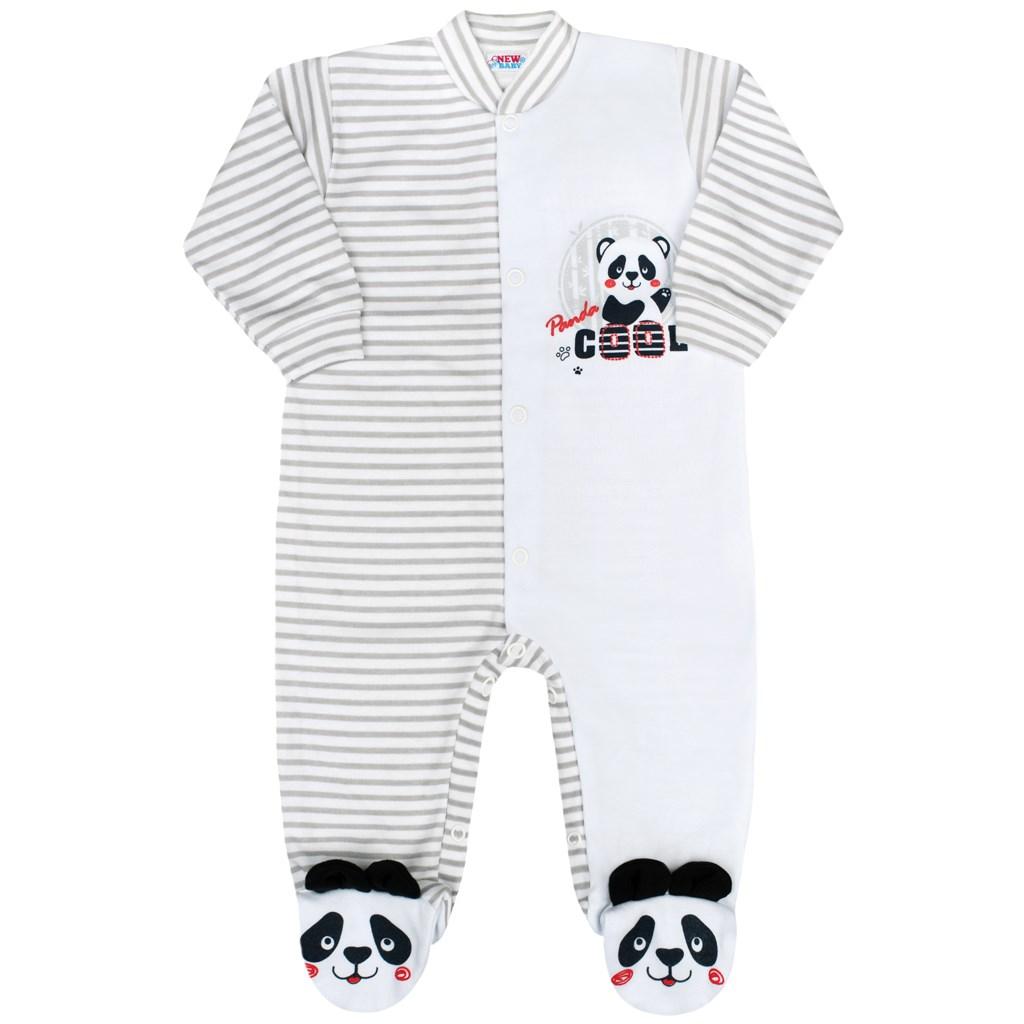 12d28571a Dojčenský overal New Baby Panda 56 (0-3m). Home · Dojčenské oblečenie ·  Overaly · Dojčenské bavlnené overaly ...