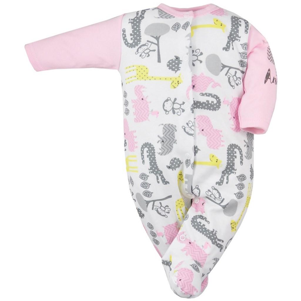 a849d304a Dojčenský overal Koala Animals in ZOO ružový 74 (6-9m). Domov · Dojčenské  oblečenie · Overaly · Dojčenské bavlnené overaly ...