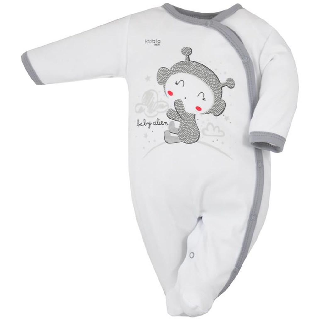 3804dbc8a Dojčenský overal Koala Clouds biely 56 (0-3m). Domov · Dojčenské oblečenie  · Overaly · Dojčenské bavlnené overaly ...