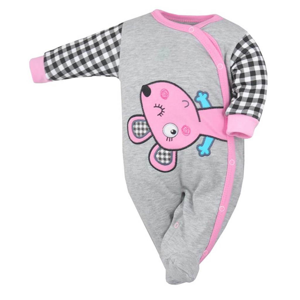 2ae5ab148 Dojčenský overal Koala Roar ružový 68 (4-6m). Domov · Dojčenské oblečenie ·  Overaly · Dojčenské bavlnené overaly ...