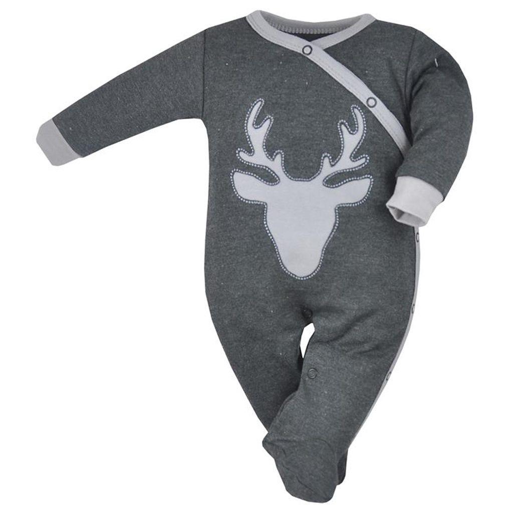 8e19127d8 Dojčenský overal Koala Deer sivý 68 (4-6m). Domov · Dojčenské oblečenie ·  Overaly · Dojčenské bavlnené overaly ...