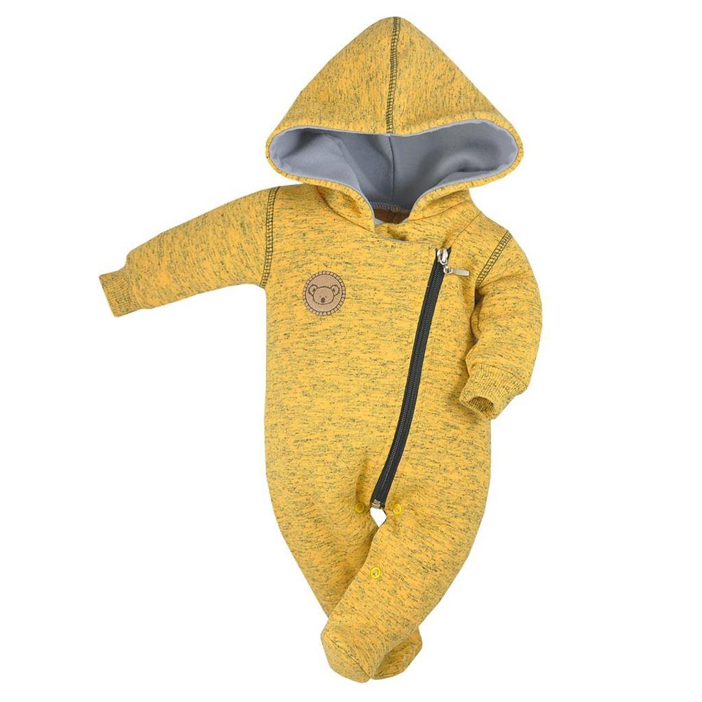 9df58509b Dojčenský overal Koala Koala melírovaná žltá 56 (0-3m). Domov · Dojčenské  oblečenie · Overaly · Dojčenské bavlnené overaly ...