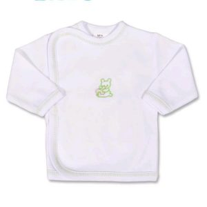 Dojčenská košieľka s vyšívaným obrázkom New Baby zelená 62 (3-6m) €4.05 adb7d9b43fc